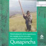 Sistematización de la experiencia de manejo de los recursos naturales de los páramos de Quisapincha. CESA 2010