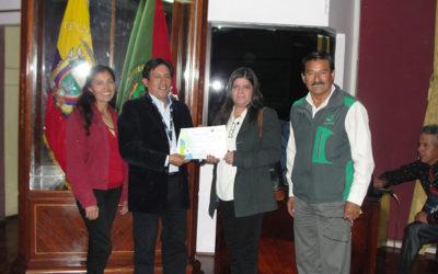CESA reconocida por la SENAGUA – Cotopaxi