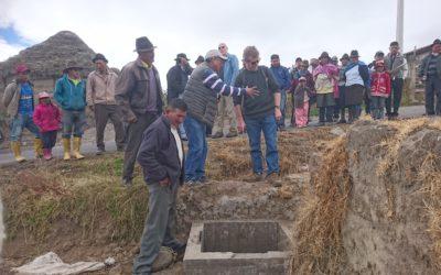 VISITA DE LA MISIÓN  LANDCARE- NUEVA ZELANDA  A COTOPAXI-ECUADOR