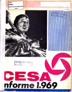 Central Ecuatoriana de Servicios Agrícolas-CESA-. CESA 1969