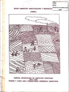 Mujer campesina participación y desarrollo. Panel 1967-1992. CESA 1992