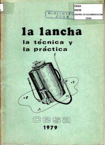La lancha, la técnica y la práctica. CESA 1979