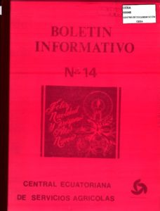 CESA. Boletín informativo No.14. CESA 1982