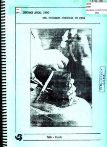 Programa forestal de CESA. Informe anual. CESA 1990